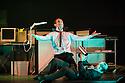 London, UK. 23.10.2013. Kristjan Ingimarsson / Neander present BLAM! at the Peacock Theatre. Picture shows: Kristjan Ingimarsson and Janus Elsig. Photograph © Jane Hobson.