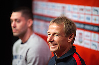 USA Press Conference with Jurgen Klinsman and Clint Dempsey