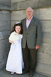 Erin Kindlon with her granddad John at the Scoil Aonghusa Communion in St.Peters Church...Photo NEWSFILE/Jenny Matthews.(Photo credit should read Jenny Matthews/NEWSFILE)....This Picture has been sent you under the condtions enclosed by:.Newsfile Ltd..The Studio,.Millmount Abbey,.Drogheda,.Co Meath..Ireland..Tel: +353(0)41-9871240.Fax: +353(0)41-9871260.GSM: +353(0)86-2500958.email: pictures@newsfile.ie.www.newsfile.ie.FTP: 193.120.102.198.