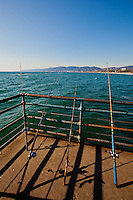 Fishing Poles at Noon