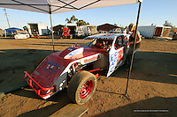"""Merced Dirt Track Racing """"In The Pits"""""""