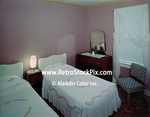 Alpine House, East Durham, MA. Motel Room 1958.