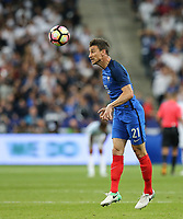 Laurent Koscielny (Arsenal) of France during the International Friendly match between France and England at Stade de France, Paris, France on 13 June 2017. Photo by David Horn/PRiME Media Images.