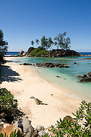 Seychelles, Island Mahe, Anse l'Islette: beach at west coast