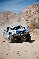 2nd place Trophy truck Jesse Jones near mile 90, 2011 San Felipe Baja 250