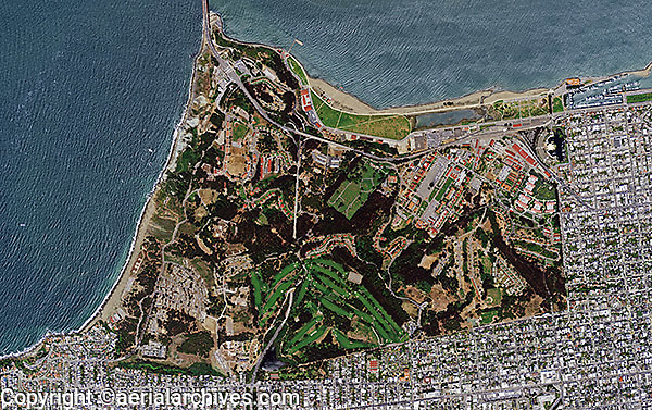 aerial photo map Presidio of San Francisco  Aerial Archives  San