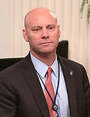 "Marc Short, chief of staff for United States Vice President Mike Pence, prior to US President Donald J. Trump arriving to make remarks and signs an executive order that will require colleges that receive federal research grant money to certify that they ""promote free inquiry"" in the East Room of the White House in Washington, DC on Thursday, March 21, 2019.<br /> Credit: Ron Sachs / CNP"