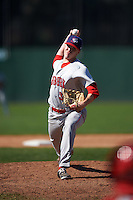 Auburn Doubledays relief pitcher Phil Morse (37) during a game against the Batavia Muckdogs on September 5, 2016 at Dwyer Stadium in Batavia, New York.  Batavia defeated Auburn 4-3. (Mike Janes/Four Seam Images)