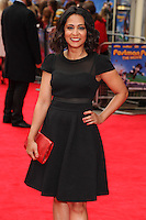 "Parminder Nagra arrives for the ""Postman Pat"" premiere at the Odeon West End, Leicester Square, London. 11/05/2014 Picture by: Steve Vas / Featureflash"