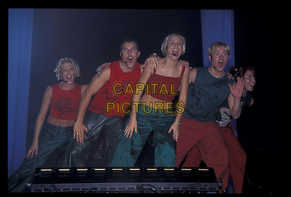 STEPS.10 October 1999.Ref: 8953.dancing, singing, half length, half-length, live, music.*RAW SCAN- photo will be adjusted for publication*.www.capitalpictures.com.sales@capitalpictures.com.©Capital Pictures