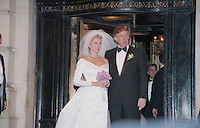 Donald Trump &amp; Marla Maples by Jonathan Green<br />