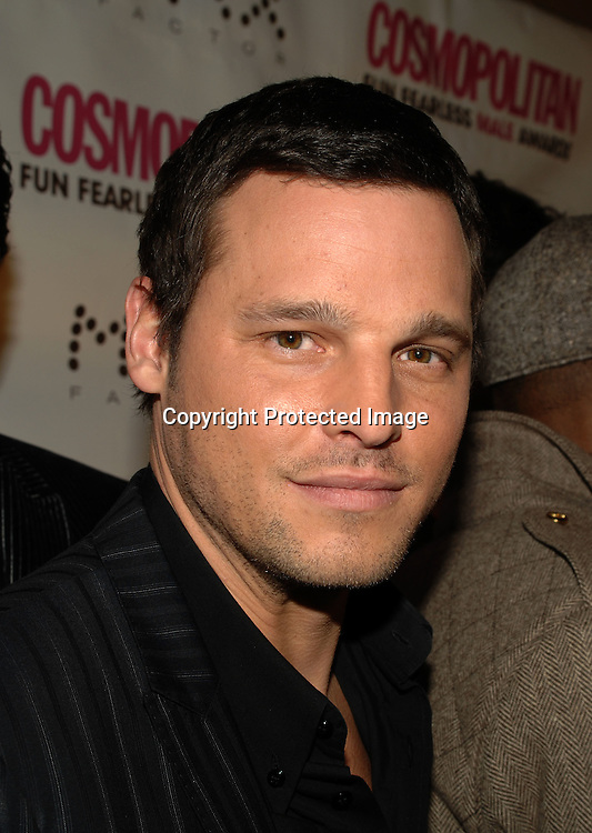 """Justin Chambers of """"Grey's Anatomy""""..at The Cosmopolitan Fun Fearless Male of the Year Award Luncheon on January 22, 2007 at Ciprianis 42nd Street. All of the men were honored...Robin Platzer, Twin Images"""