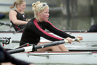REDWOOD SHORES, CA - JANUARY 2002:  Missy Fiesler of the Stanford Cardinal during practice in January 2002 in Redwood Shores, California.