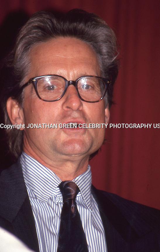 Michael Douglas 1993 by Jonathan Green