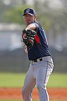 Cleveland Indians minor leaguer Sean Smith during Spring Training at the Chain of Lakes Complex on March 16, 2007 in Winter Haven, Florida.  (Mike Janes/Four Seam Images)