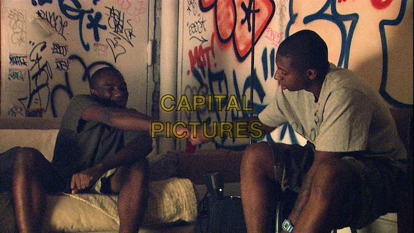 Melvin Mogoli, Ty Hickson<br /> in Gimme the Loot (2012) <br /> *Filmstill - Editorial Use Only*<br /> CAP/FB<br /> Image supplied by Capital Pictures