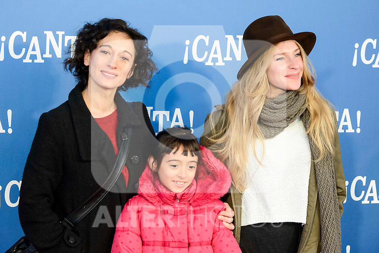 "Carolina Meijer attends to the premiere of the film ""¡Canta!"" at Cines Capitol in Madrid, Spain. December 18, 2016. (ALTERPHOTOS/BorjaB.Hojas)"
