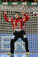Daniel Rebmann (FAG) mit einer Parade im Tor