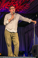 19th July 2014: English comedian and actor Miles Jupp plays the Comedy Arena on the third day of the 9th edition of the Latitude Festival, Henham Park, Suffolk. <br /> Picture by Stuart Hogben