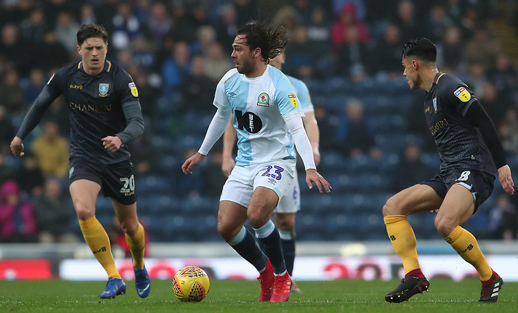 Blackburn Rovers' Bradley Dack<br /> <br /> Photographer Rachel Holborn/CameraSport<br /> <br /> The EFL Sky Bet Championship - Blackburn Rovers v Sheffield Wednesday - Saturday 1st December 2018 - Ewood Park - Blackburn<br /> <br /> World Copyright &copy; 2018 CameraSport. All rights reserved. 43 Linden Ave. Countesthorpe. Leicester. England. LE8 5PG - Tel: +44 (0) 116 277 4147 - admin@camerasport.com - www.camerasport.com