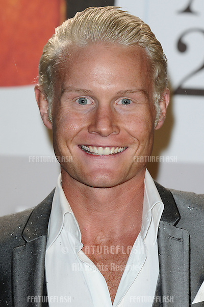 Rhydian arriving for the Classic Brit Awards 2012 at the Royal Albert Hall, London. 02/10/2012 Picture by: Steve Vas / Featureflash