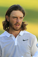 Tommy Fleetwood (ENG) finishes on the 18th green during Thursday's Round 1 of the 2018 Turkish Airlines Open hosted by Regnum Carya Golf &amp; Spa Resort, Antalya, Turkey. 1st November 2018.<br /> Picture: Eoin Clarke | Golffile<br /> <br /> <br /> All photos usage must carry mandatory copyright credit (&copy; Golffile | Eoin Clarke)