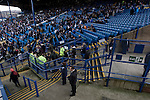 Supporters making their way into the Kop stand before Sheffield Wednesday take on Peterborough United in a Coca-Cola Championship match at Hillsborough Stadium, Sheffield. The home side won by 2 goals to 1 giving Alan Irvine his third straight win since taking over as Wednesday's manager.