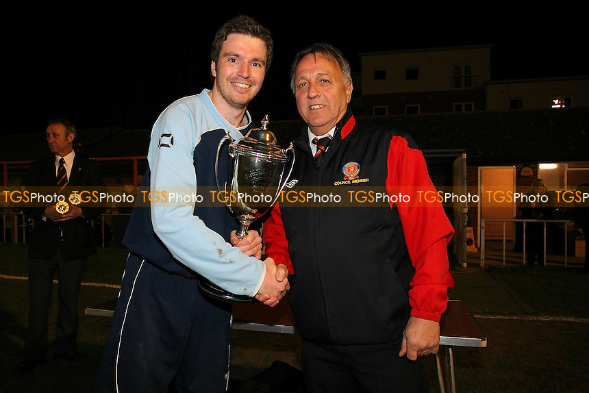 Cup winners SC Crittall - Essex Police vs SC Crittall - Braintree & North Essex Sunday League Premier Division Cup Final at Braintree Town FC - 16/04/13 - MANDATORY CREDIT: Gavin Ellis/TGSPHOTO - Self billing applies where appropriate - 0845 094 6026 - contact@tgsphoto.co.uk - NO UNPAID USE.