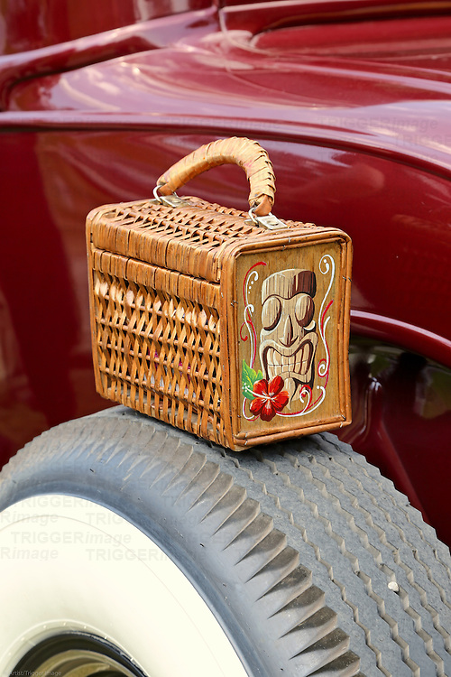Classic vintage European car