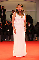 Angeles Woo walks the red carpet ahead of the 'Manhunt (Zhuibu)' screening during the 74th Venice Film Festival at Sala Darsena on September 8, 2017 in Venice, Italy. <br /> CAP/GOL<br /> &copy;GOL/Capital Pictures