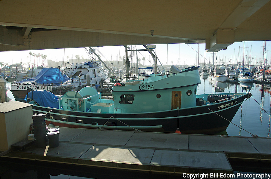 Capt. James Gardner captains Antoinette W, a bait boat that is based out of Oceanside, California.