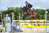 NZL-Jesse Campbell rides Diachello during the Showjumping for the Noel C. Duggan Engineering CCI4*-L. 2019 IRL-Millstreet International Horse Trials. Green Glens Arena. Millstreet. Co. Cork. Ireland. Sunday 25 August. Copyright Photo: Libby Law Photography