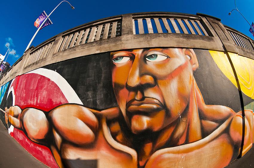 Street art, Auckland, New Zealand