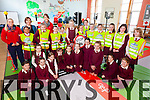 Rules of the Road, pupils from St Josephs NS Cahersiveen received their license's on road safety on Thursday last as the Road Safety Authority provided workshops to all the pupils on the Rules of the Road, pictured here 3rd, 4th, 5th & 6th classes  front l-r; Róisín Carroll, Martha O'Connell, Clodagh Coffey, Julia Garvey, Shannon Delayney, Patricja Pudzemyte, Clara Daly, Cara O'Shea, Megan Mahoney, Ella Cooke, Emma Quigley, back l-r; Anny Weng, Guste Beleveciute, Anie O'Connor, Shauna Walsh, Sophie Daly, Fiona Griffin, Ellie O'Connell, Carla Murphy, Isabel O'Connor, Leah Murphy, Pamela O'Connor, Maura Mahoney with Leona Mulvihill(RSA), Susan Daly(Teacher) & Rachel Worrell(RSA).