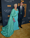 "Helen Mirren, Philip Martin 030 attends the Los Angeles Premiere Of The New HBO Limited Series ""Catherine The Great"" at The Billy Wilder Theater at the Hammer Museum on October 17, 2019 in Los Angeles, California."