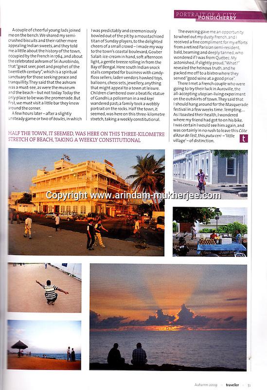 Traveller Magazine, UK.
