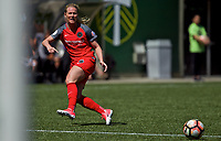 Portland, OR - Saturday April 15, 2017: Amandine Henry during a regular season National Women's Soccer League (NWSL) match between the Portland Thorns FC and the Orlando Pride at Providence Park.