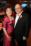 Ann and Clarence Cazalot at the Pink Tie Gala at the InterContinental Hotel Saturday March 6,2010. (Dave Rossman Photo)