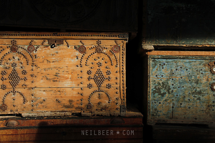 Images of Turkey. Light on Boxes