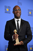 Barry Jenkins at the 74th Golden Globe Awards  at The Beverly Hilton Hotel, Los Angeles USA 8th January  2017<br /> Picture: Paul Smith/Featureflash/SilverHub 0208 004 5359 sales@silverhubmedia.com