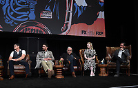 """HOLLYWOOD - MAY 29:  JD Pardo, Clayton Cardenas, Edward James Olmos, Sarah Bolger, and Danny Pino attend the FYC event for FX's """"Mayans M.C."""" at Neuehouse Hollywood on May 29, 2019 in Hollywood, California. (Photo by Frank Micelotta/FX/PictureGroup)"""