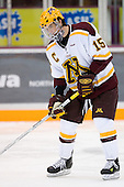 Mike Vannelli (University of Minnesota - St. Paul, MN) warms up. The University of Minnesota Golden Gophers defeated the Michigan State University Spartans 5-4 on Friday, November 24, 2006 at Mariucci Arena in Minneapolis, Minnesota, as part of the College Hockey Showcase.