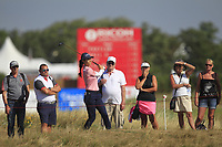 Azahara Munoz (ESP) on the 2nd fairway during Round 4 of the Ricoh Women's British Open at Royal Lytham &amp; St. Annes on Sunday 5th August 2018.<br /> Picture:  Thos Caffrey / Golffile<br /> <br /> All photo usage must carry mandatory copyright credit (&copy; Golffile | Thos Caffrey)