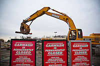 Car Wash Demolition - Wal-Mart - iWesterville