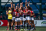 Hong Kong plays Japan during the ARFU Asian Rugby 7s Round 1 on August 24, 2014 at the Hong Kong Football Club in Hong Kong, China. Photo by Xaume Olleros / Power Sport Images