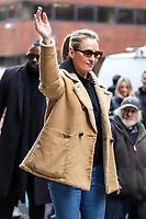 Nova York (EUA), 18/04/2019 - Celebridades / Uma Thurman - A atriz norte-americana Uma Thurman é vista no bairro do Soho em Manhattan na cidade de Nova York nos Estados Unidos nesta quinta-feira, 18. (Foto: Vanessa Carvalho/Brazil Photo Press)