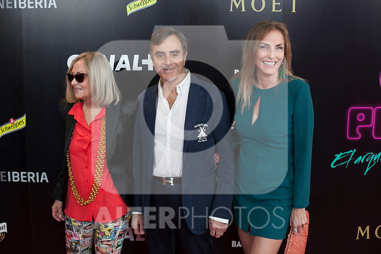 Manolo Segura poses during Pacha `El arquitecto de la noche´ film premiere in Madrid, Spain. May 25, 2015. (ALTERPHOTOS/Victor Blanco)