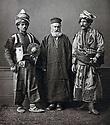 Ottoman Empire 1873  Kurds in traditionnal costume with an orthodox priest     Ottoman Empire  1873 Kurdes en costume traditionnel avec un prêtre orthodoxe