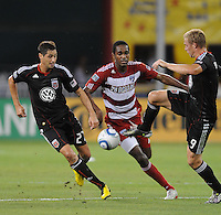 DC United forward Danny Allsopp (9)   FC Dallas defeated DC United 3-1 at RFK Stadium, Saturday August 14, 2010.
