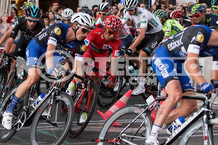 during the last stage or La Vuelta of Spain in Madrid. September 10, 2016. (ALTERPHOTOS/Rodrigo Jimenez) NORTEPHOTO.COM
